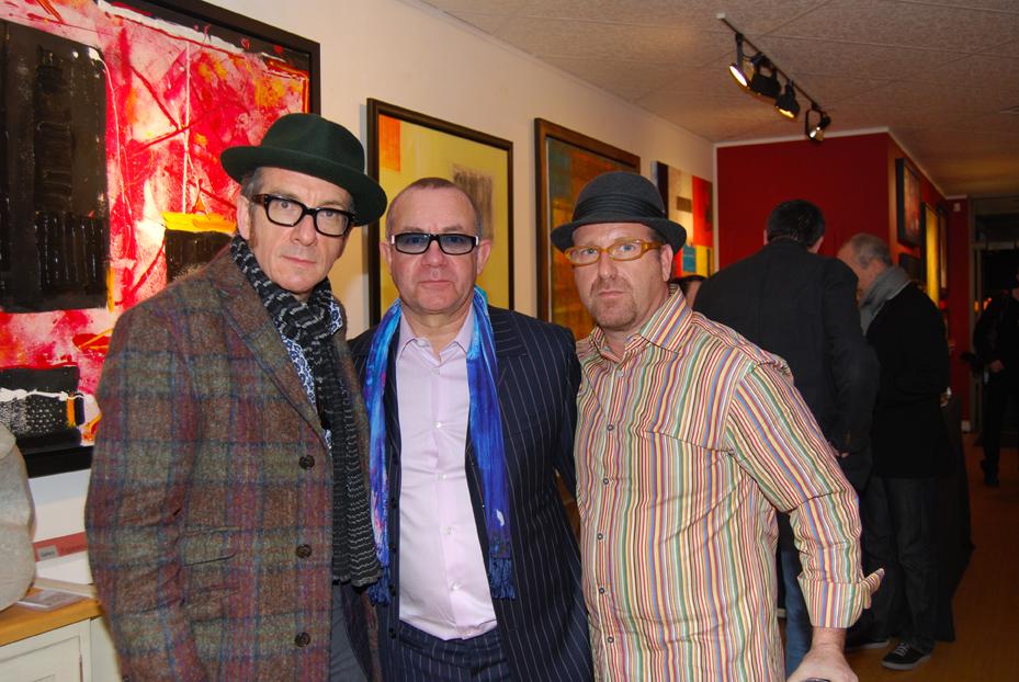 Elvis Costello, Bernie Taupin, Brian Liss
