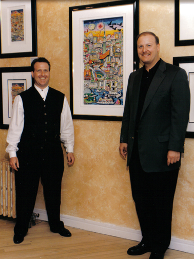 1997-Charles Fazzino and Brian Liss