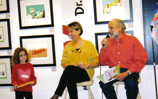 2001-Sharon Hampson & Bram Morrison with Marlee Liss