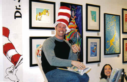 2001-Dr. Seuss Show with Mark Tewskbury