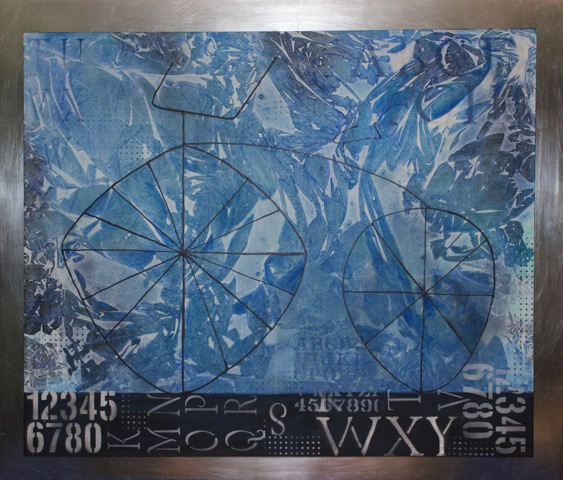 "Azules (In Blues) 39""x47"""