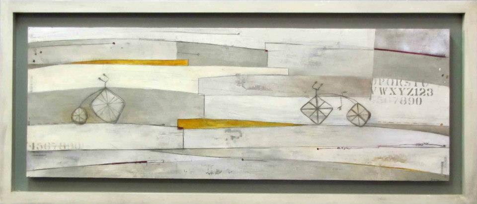"A Donde (Going to) 24""x64"""