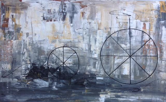"Bicicleta Urbana 40""x63"""