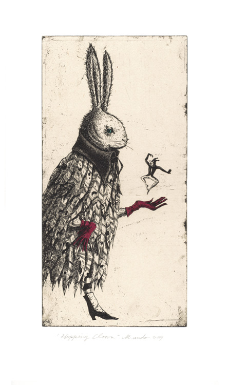 "Hopping Clown 12.5""x7"""