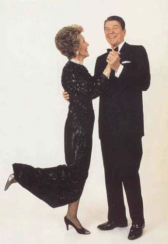 President and Mrs. Ronald Reagan, Washington D.C., 1985