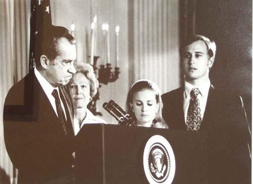 President Nixon Resigns, 1974