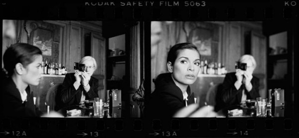 Andy Warhol & Bianca Jagger, 1977