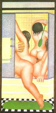 "A Bathroom 27""x13.5"" - RARE EDITION"