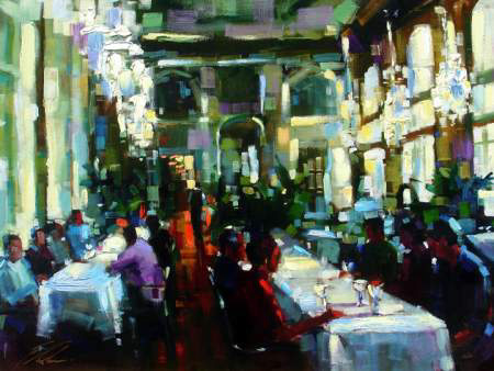 "Crystal Cafe 30""x22.5"" - RARE EDITION"