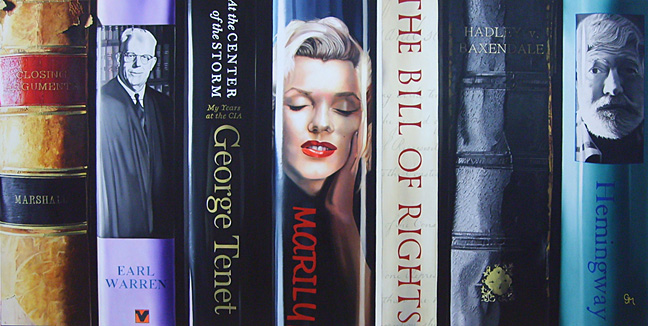"Bibliotheque IV 12""X24"" or 24""X48"""