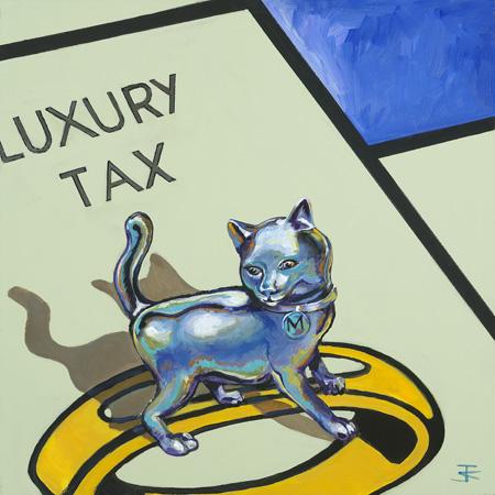 """Lux Cat 30""""x 30"""""""