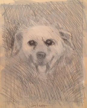 """Dog 8.5"""" x 11"""""""