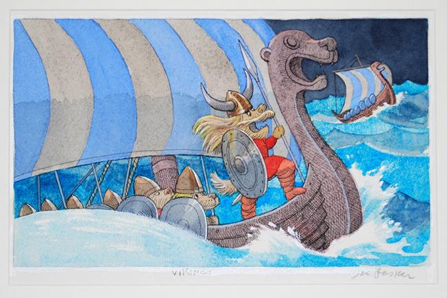 """Vikings 13.25"""" x 16"""""""