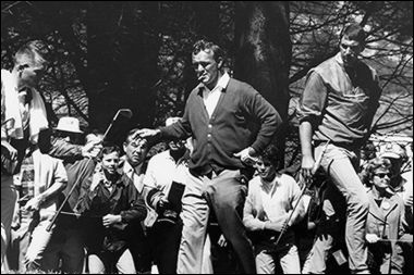 Arnold Palmer Walking & Smoking, 1966