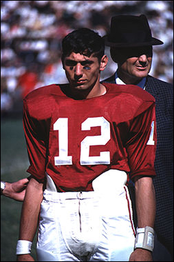 Joe Namath at Alabama, 1962