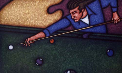 Pool Player - Klein Schroth