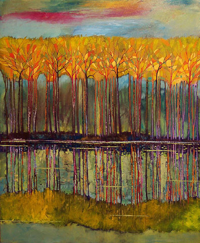 """Affectionate Nature 48""""x60"""""""