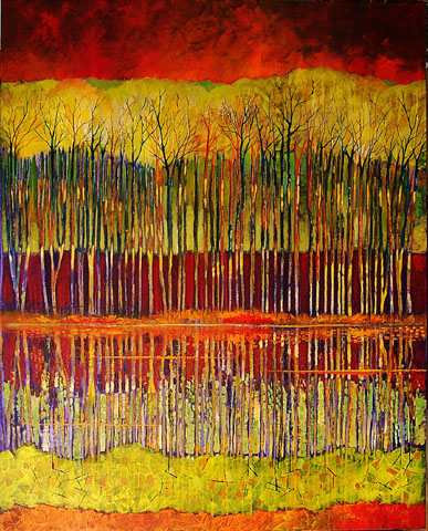 """Natural Attraction 40""""x30"""""""