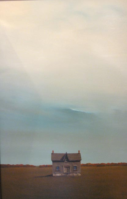 "Memories of the Farmhouse 38""x26"""