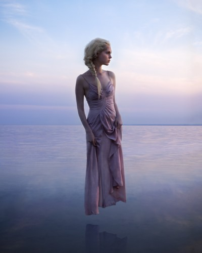 """Shores of Gaia, Sunset 8""""x10"""""""
