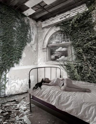 "Sleeping Beauty 11""x14"""