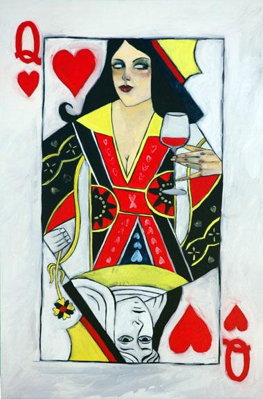 """Cabernet Queen 30""""x20"""""""