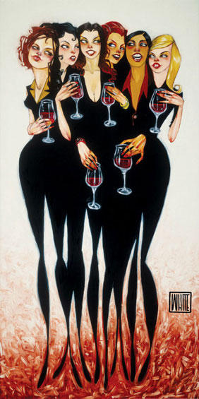 "Girl Party Reunion 16""x32"" - SOLD OUT EDITION"