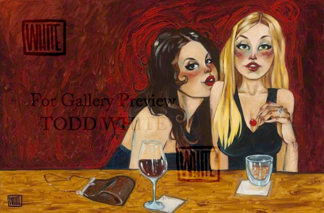 "Girly Drinks 10""X16"""