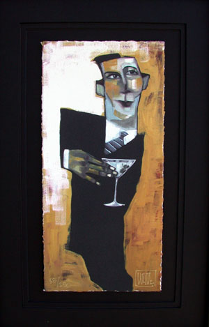 "Very Dirty Martini 15""x10"""