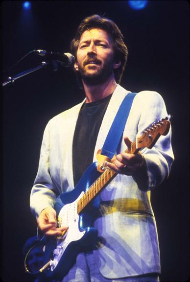 Eric Clapton, NYC, 1975