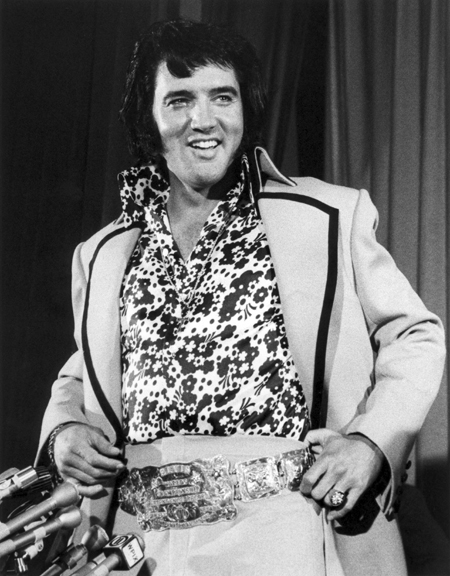 Elvis Presley, NYC, 1972