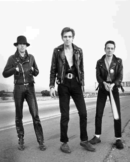 The Clash with Baseball Bats, 1979