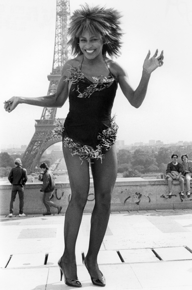 Tina Turner, Paris, 1984
