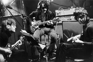 John Lennon, Mick Jagger & Tex Gabriel, NYC, 1972