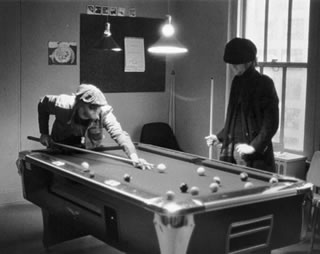 Playing Pool, NYC, 1974