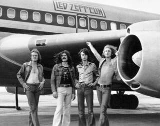 In Front of Plane, 1973