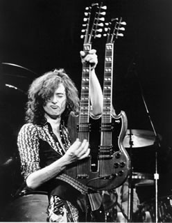 Jimmy Page, Double Neck, 1975