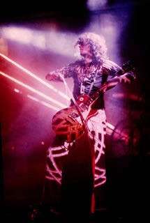 Jimmy Page, Lasers, 1975