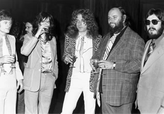 Party with Peter Grant, 1974