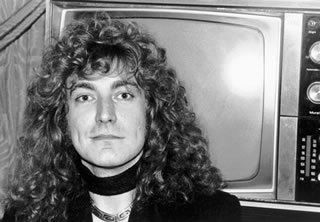 Robert Plant, TV, NYC, 1976