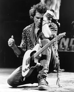 Keith Richards - Kneeling, NYC, 1993