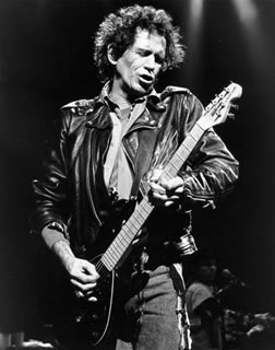 Keith Richards - Playing Guitar, NYC, 1993
