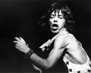 Mick Jagger on Stage, NYC, 1972