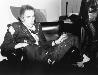Johnny Rotten Office 1976