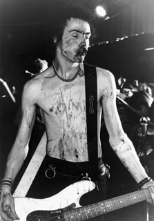 Sid Vicious Cov Blood 1978