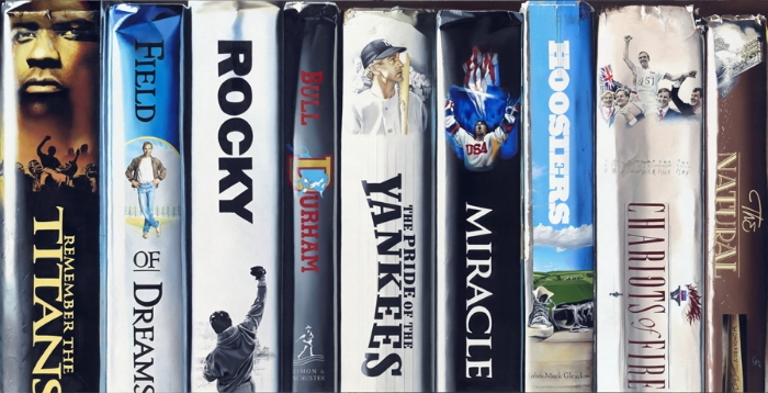 "Great Sports Movies 12""x24"" or 24""x48"""
