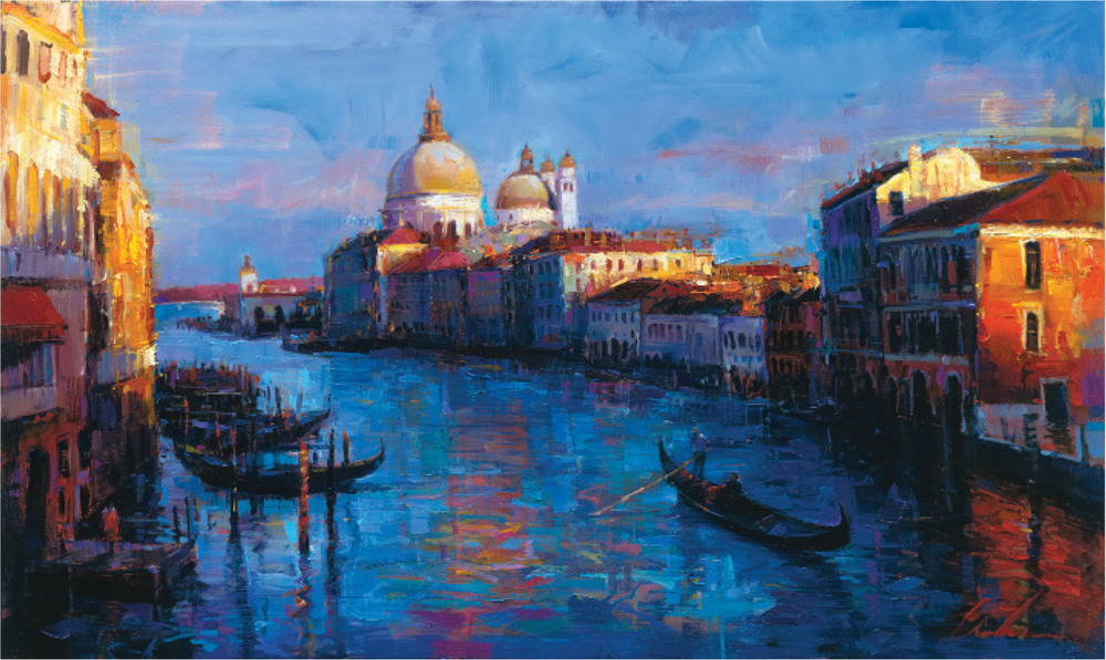 "Beautiful Venice 18"" x 30"" or 36"" x 60"""