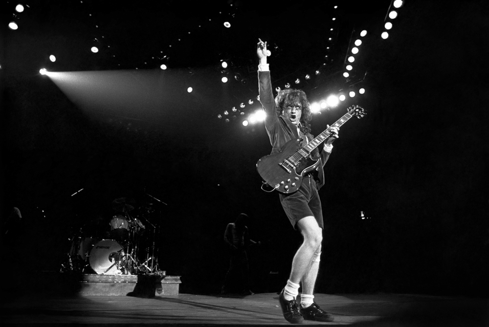 ACDC Angus Young 1983