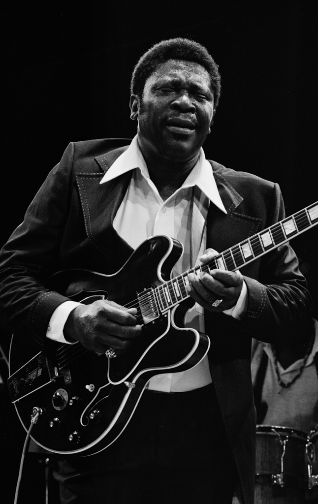 BB King Performing 1974