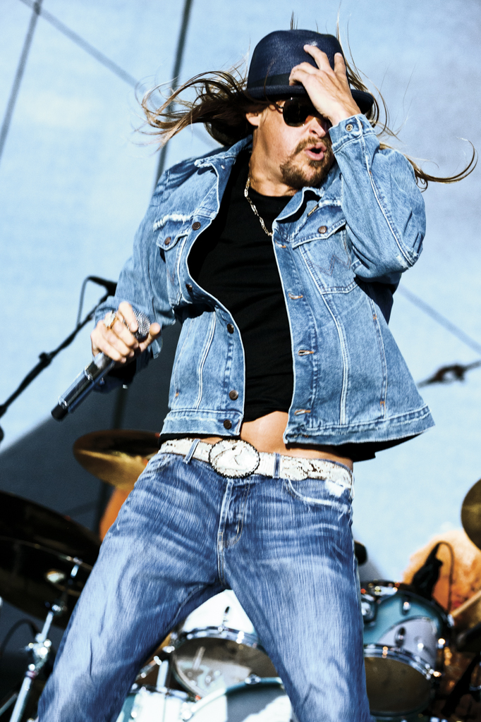 Kid Rock performing,2012